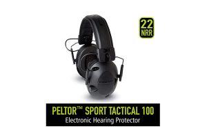 Peltor Tactical 100 Earmuffs Review