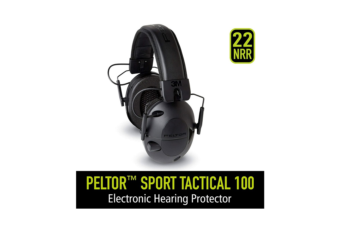Peltor Tactical 100 Earmuffs Review