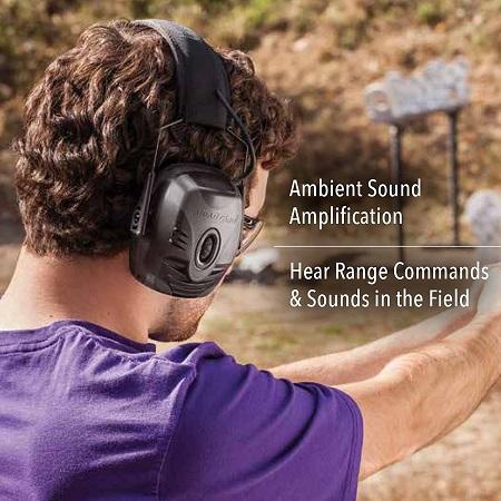 howard leight imact pro R-01902 shooting earmuffs