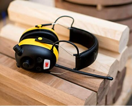 3M WorkTunes AMFM Hearing Protector with Audio Assist Technology