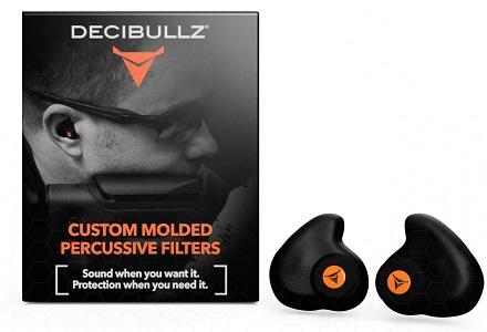 Decibullz percussive filters ear plugs
