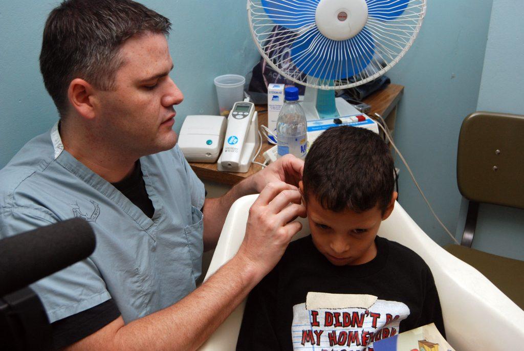 Wilford Hall team treats ENT patients in Honduras
