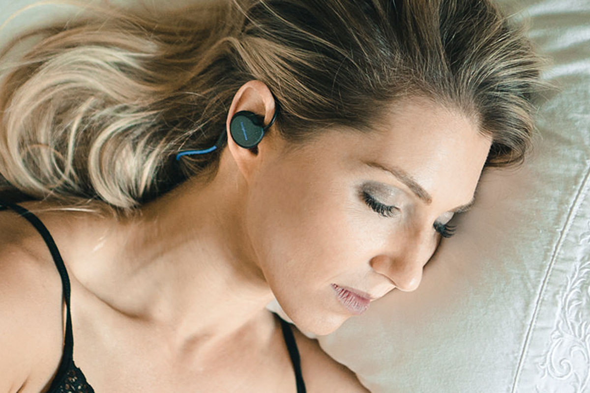 Moonbow Bedphones hearing aid