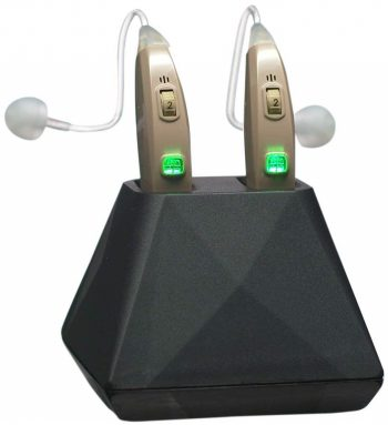 Recharge Behind the Ear Hearing Aids